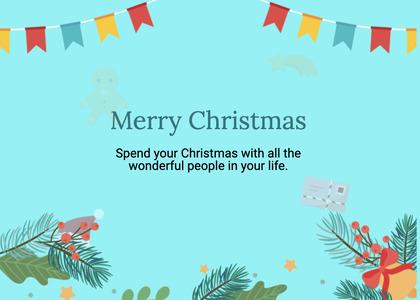 christmas card 194 advertisement flyer