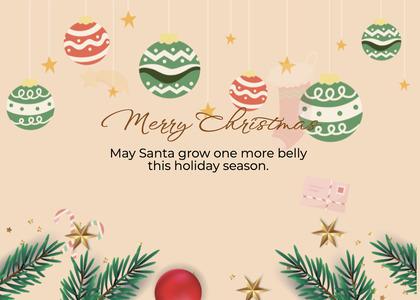 christmas card 195 envelope tree