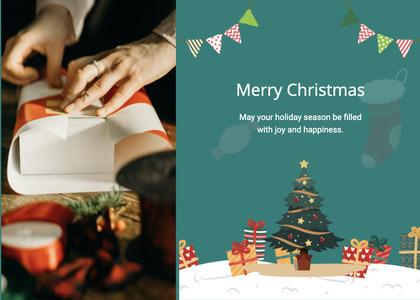 christmas card 22 person human