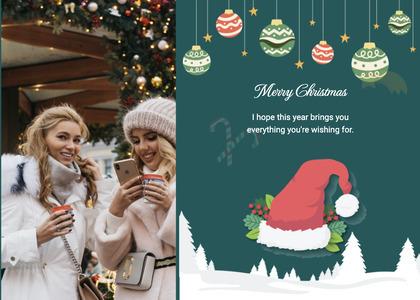 christmas card 29 person human