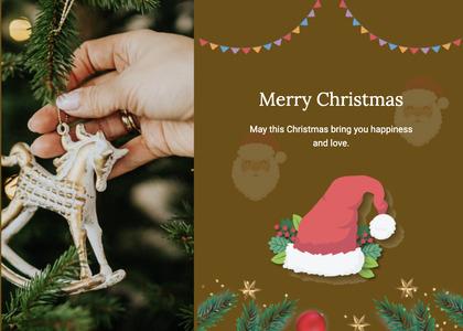 christmas card 35 person human