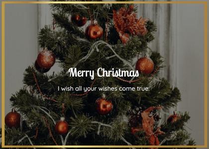 christmas card 38 christmastree tree