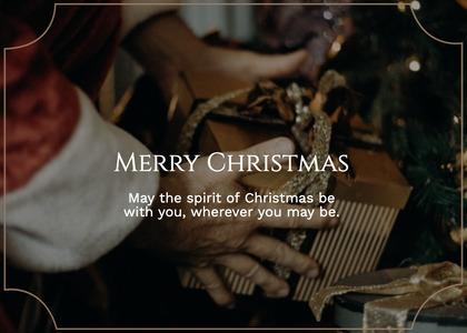 christmas card 41 person human