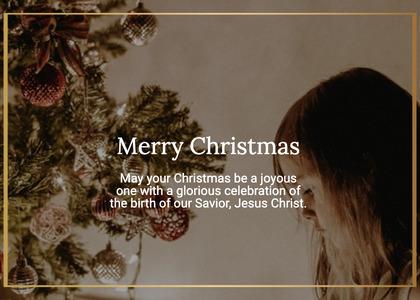 christmas card 46 person human