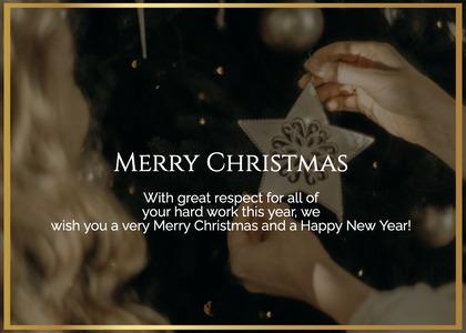 christmas card 47 person human