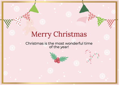 christmas card 48 envelope mail