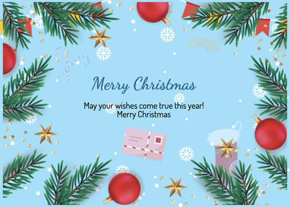christmas card 50 flyer brochure