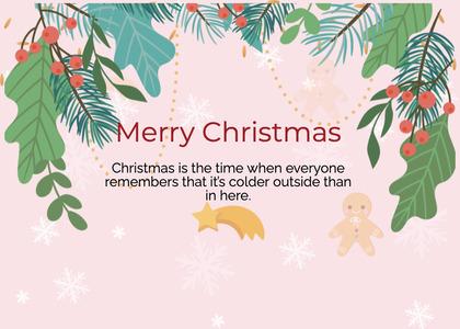 christmas card 51 flyer brochure