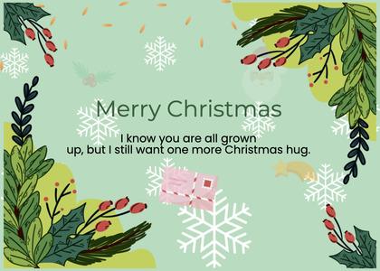 christmas card 52 plant tree