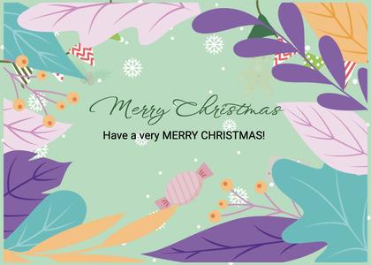 christmas card 53 graphics art