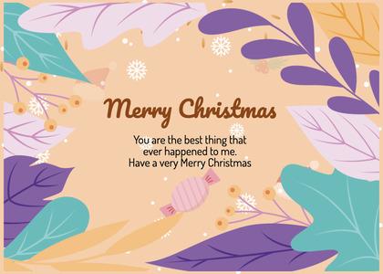 christmas card 58 flyer brochure