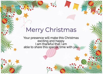christmas card 61 advertisement poster