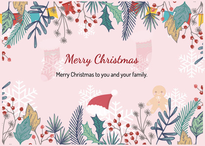 christmas card 62 graphics art