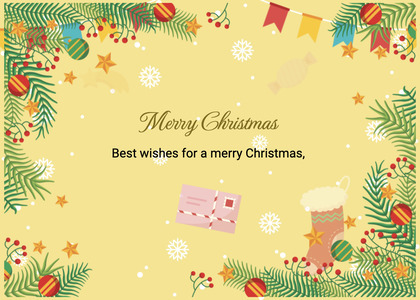 christmas card 63 graphics paper