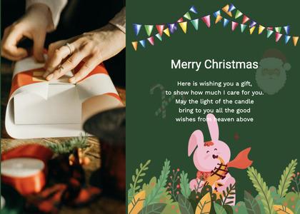 christmas card 68 person human