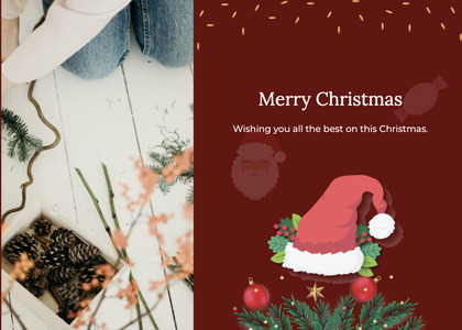 christmas card 70 envelope mail
