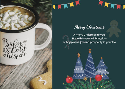 christmas card 72 coffeecup cup