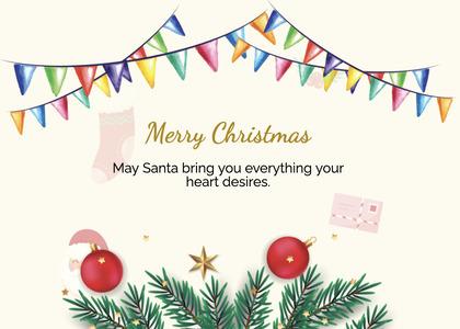 christmas card 91 tree plant