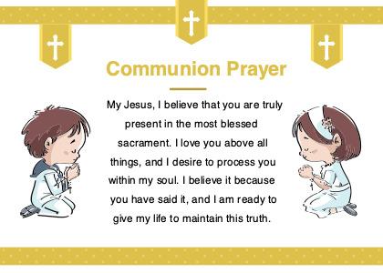 communion card 4 text label
