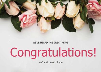 congratulations card 11 plant petal