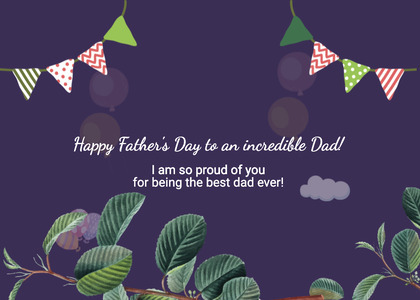 fathersday card 103 poster advertisement