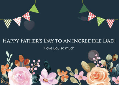 fathersday card 109 plant graphics