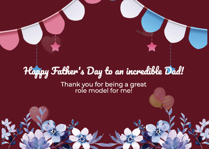 fathersday card 122 envelope mail