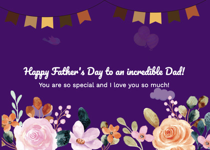 fathersday card 123 advertisement poster