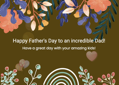 fathersday card 124 envelope mail