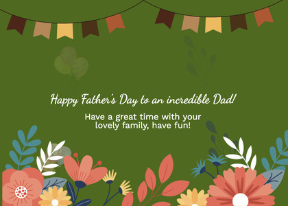 fathersday card 125 floraldesign graphics