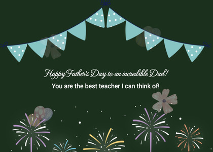 fathersday card 138 flyer brochure