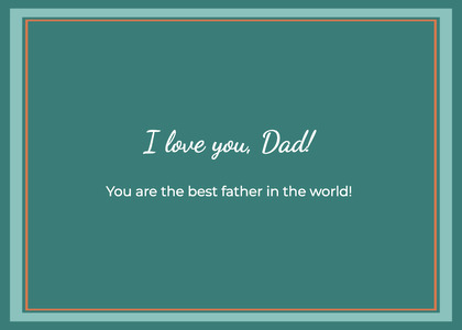 fathersday card 14 business card paper