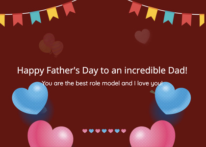 fathersday card 147 text heart