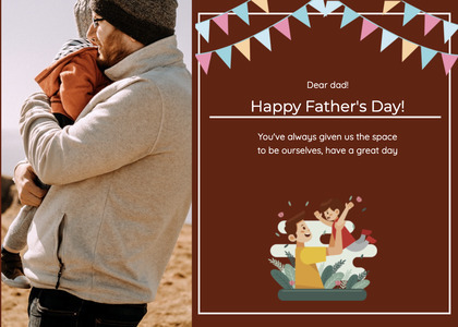 fathersday card 151 advertisement poster