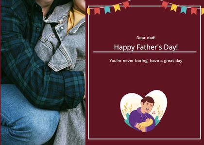 fathersday card 156 person human