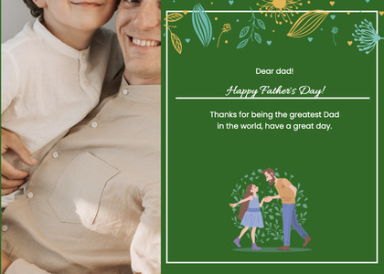 fathersday card 157 person human