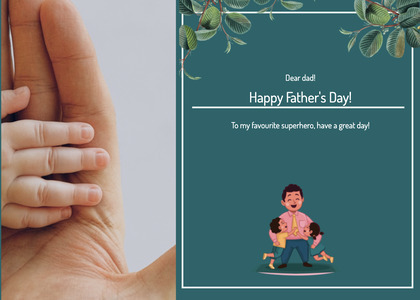fathersday card 160 person human