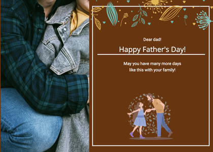 fathersday card 163 advertisement poster