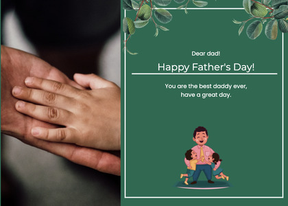 fathersday card 164 person human
