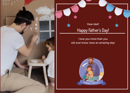 fathersday card 165 person human