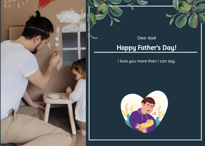 fathersday card 167 person human