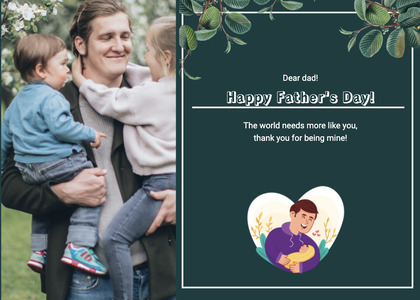 fathersday card 169 person pants