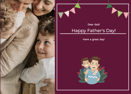 fathersday card 173 person human