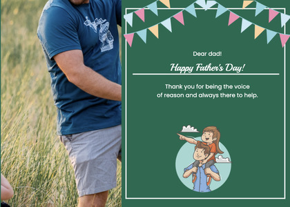 fathersday card 174 person human