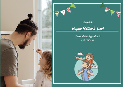 fathersday card 176 person human