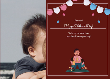 fathersday card 177 person human