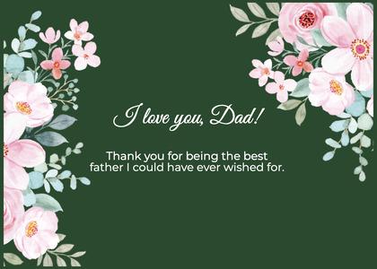 fathersday card 18 floraldesign art