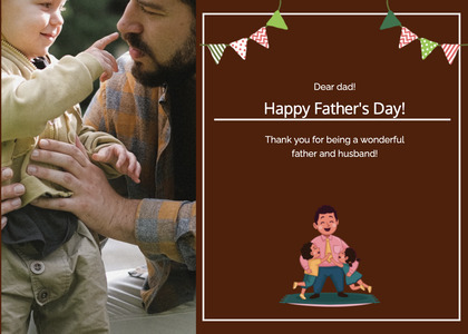fathersday card 182 person human
