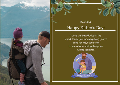 fathersday card 187 poster advertisement