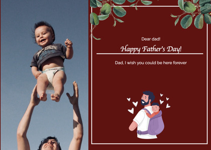 fathersday card 189 person human